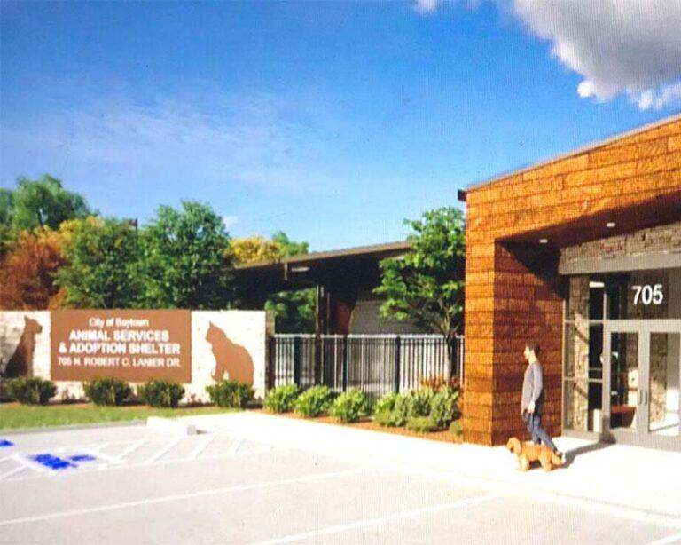Baytown Animal Services Building Rendering