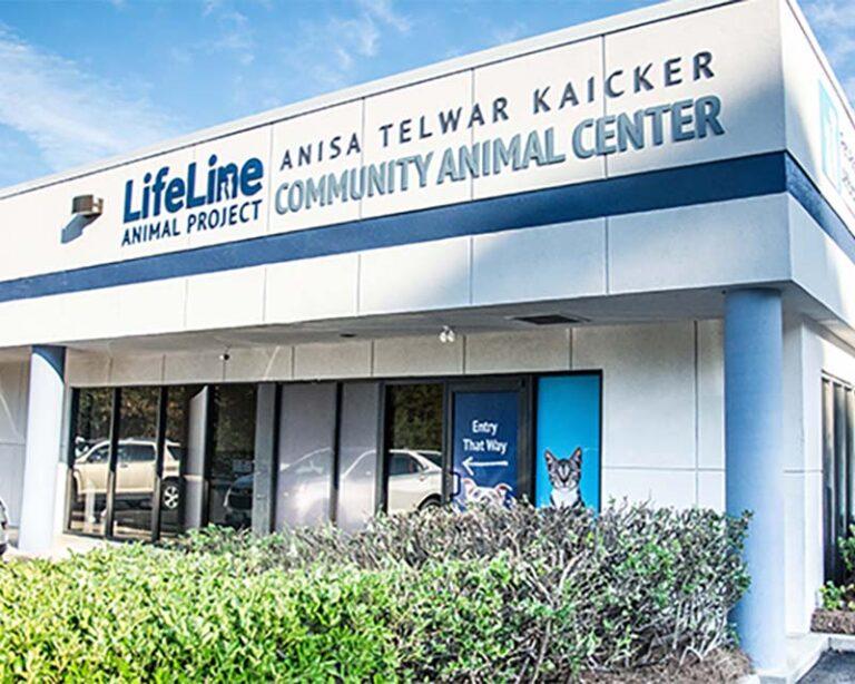 LifeLine Animal Project Building